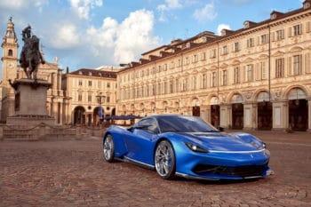 Pininfarina Battista Blu Iconica 1