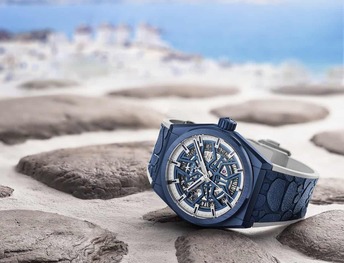 Check out the New Zenith Watch: DEFY Classic Mykonos Edition