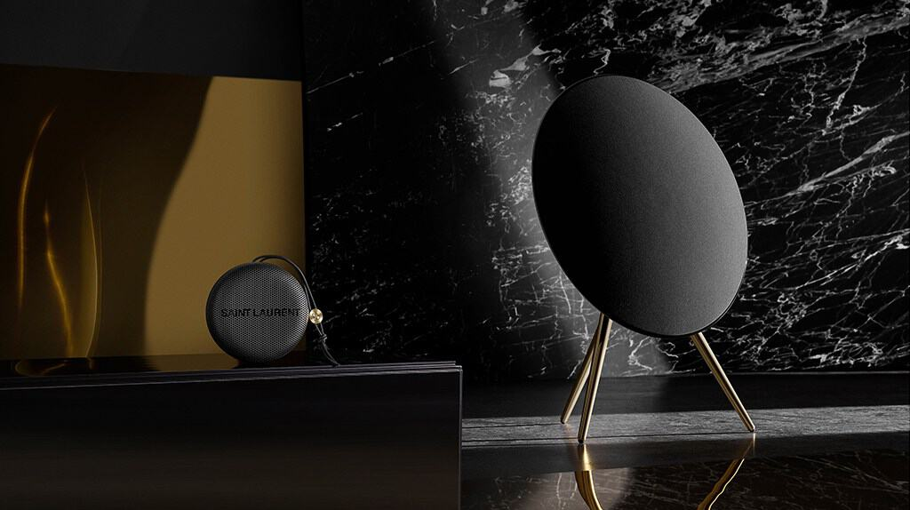 Saint Laurent and Bang & Olufsen Collaboration on the Beoplay A9 and A1