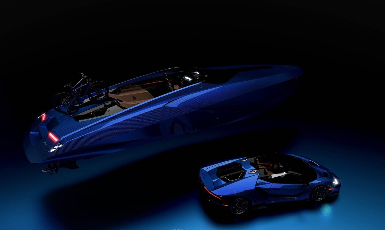 A43 Officina Armare Lamborghini Boat 2