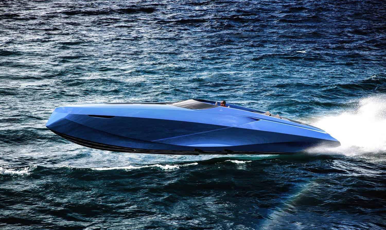 A43 is Officina Armare's Lamborghini Inspired Boat