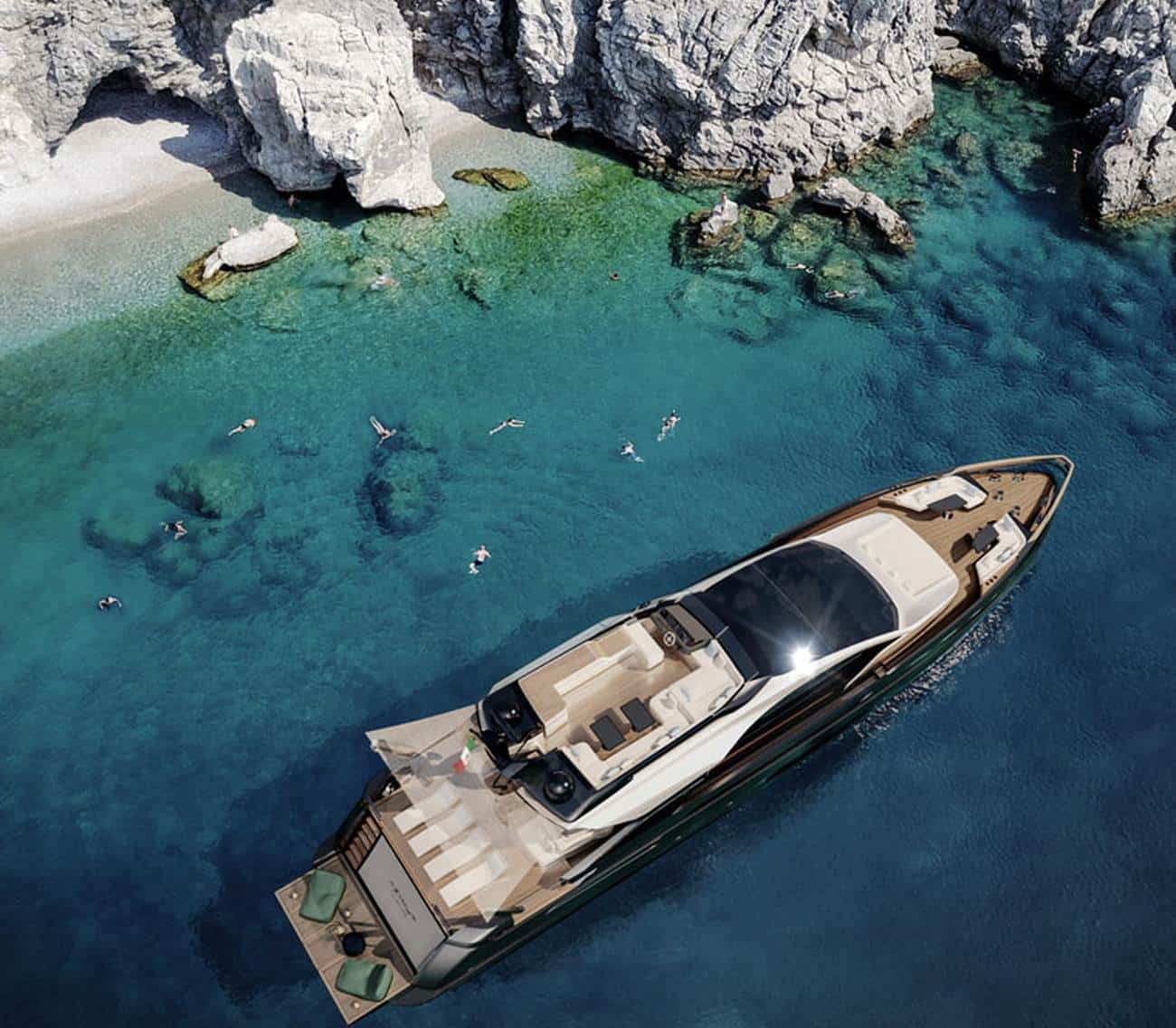The Incredible Grande S10 is Azimut's Newest Superyacht