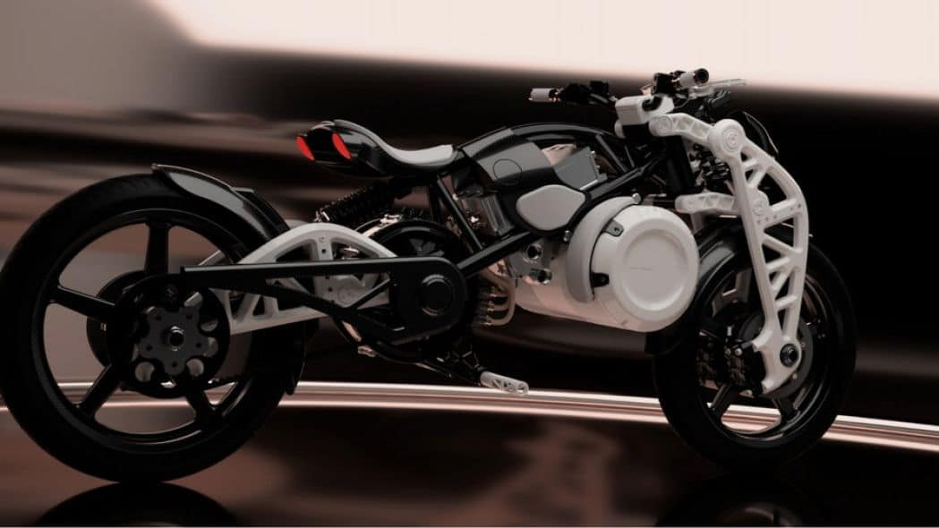Curtiss Psyche is a New Incredible Electric Motorcycle Concept