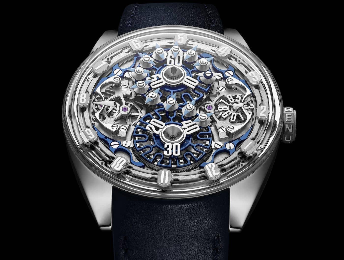 Genus Watches Gold Watch 8