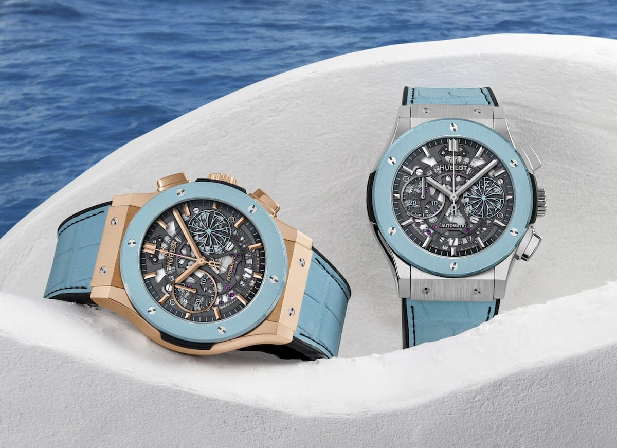 This Summer we'll Enjoy Tracking Time With the New Hublot Mykonos