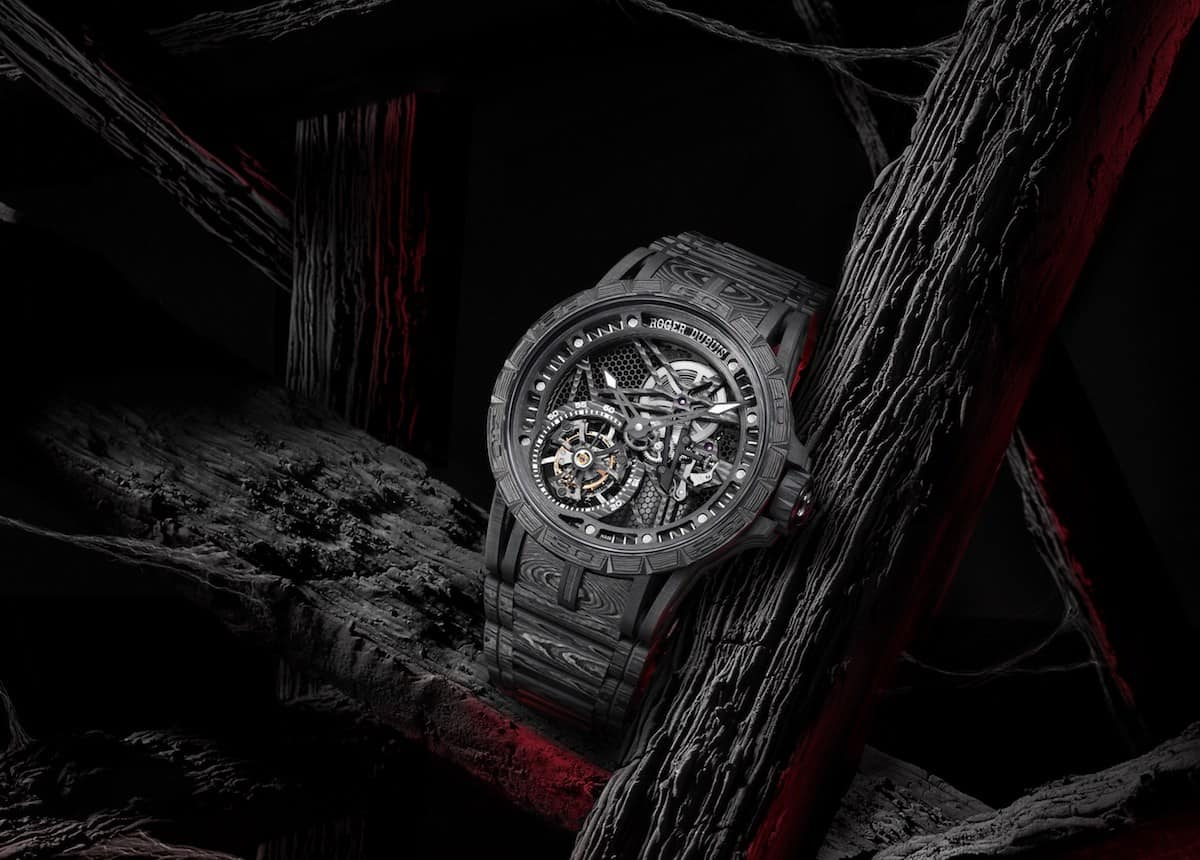 Roger Dubuis Excalibur Spider Carbon Watch 1