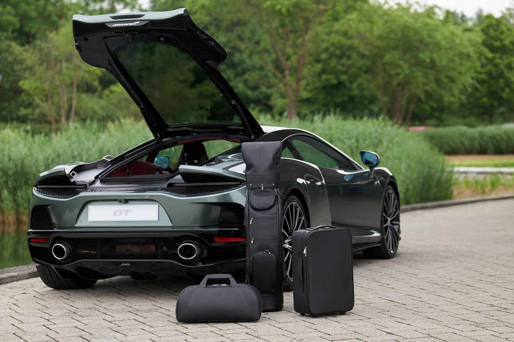 mclaren gt luggage set 4