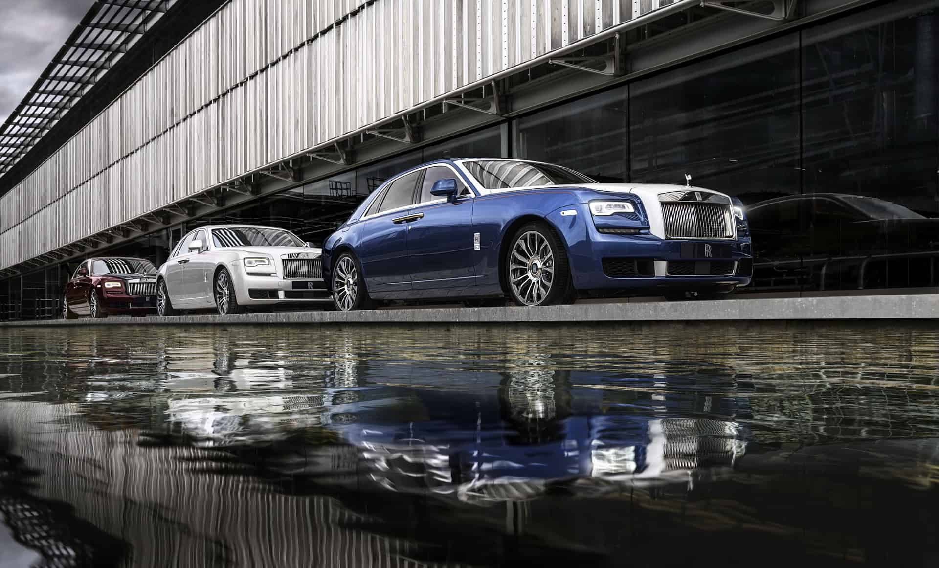 Rolls-Royce says Goodbye to the Ghost with the Stunning Zenith Collection