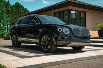 Bulletproof Bentley Bentayga 1