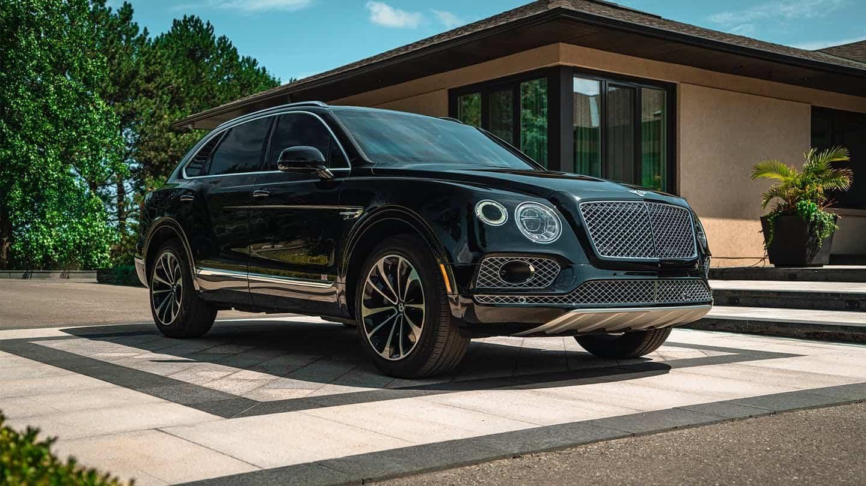 Bulletproof Bentley Bentayga 1