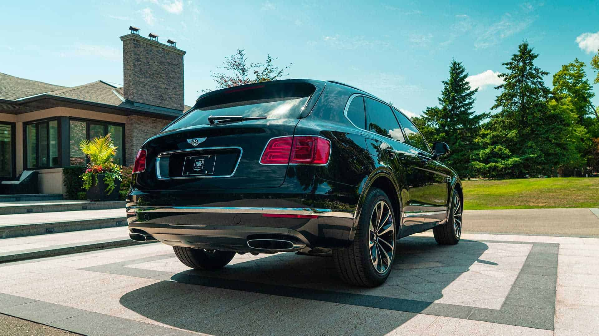 Bulletproof Bentley Bentayga 4