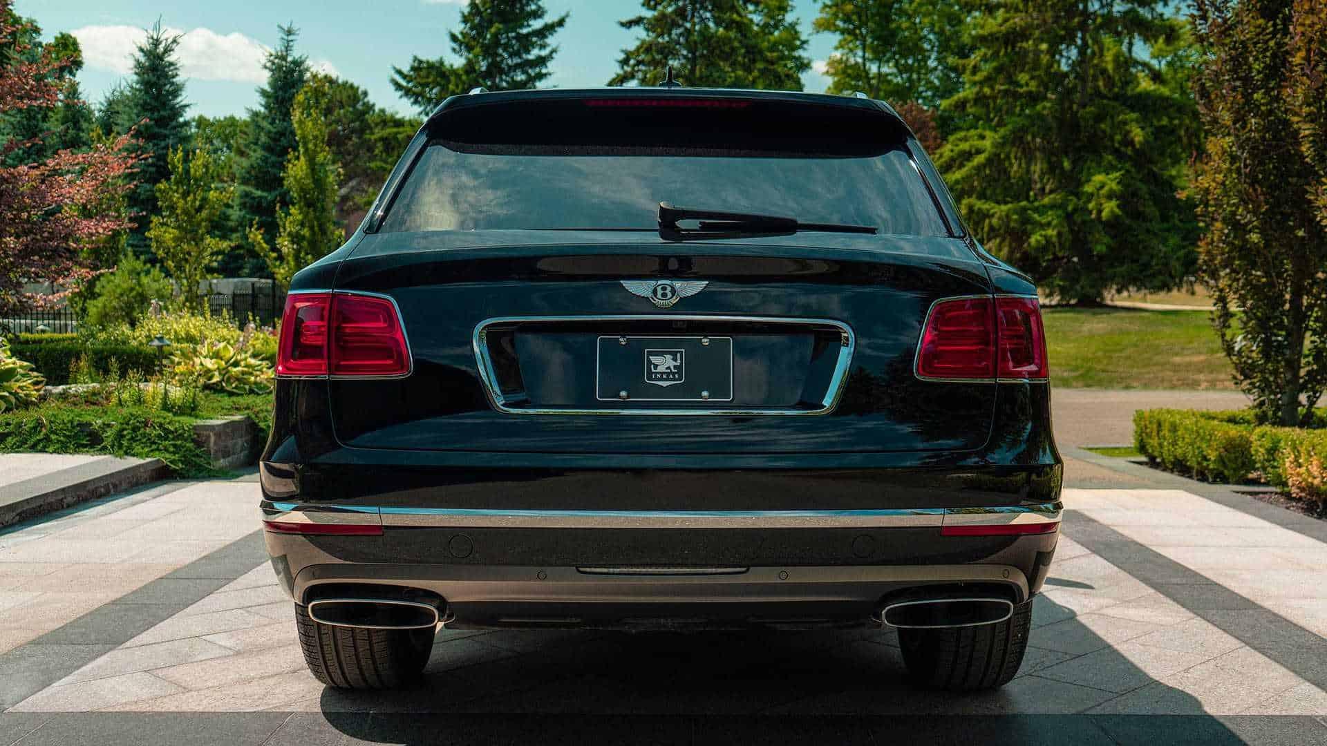 Bulletproof Bentley Bentayga 5