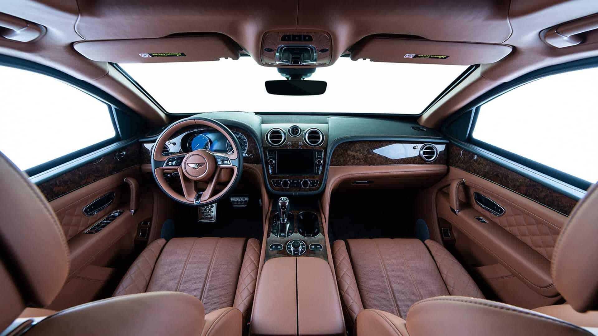 Bulletproof Bentley Bentayga 6
