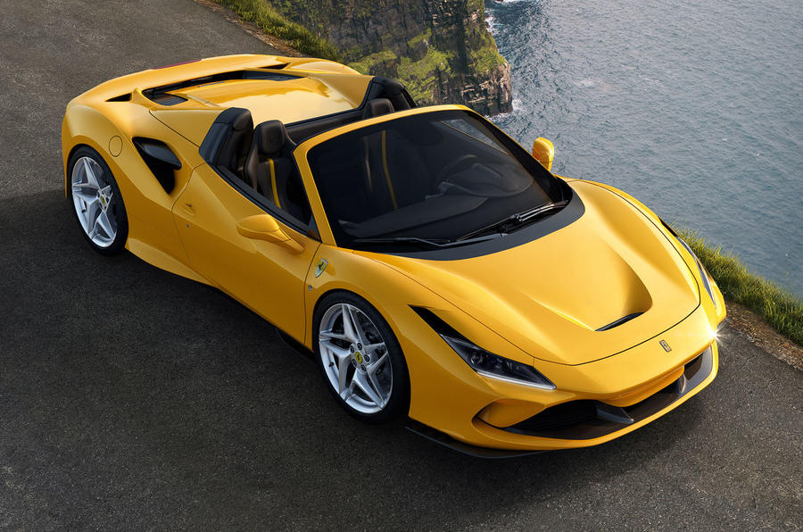 Ferrari Just Revealed the Jaw Dropping F8 Spider