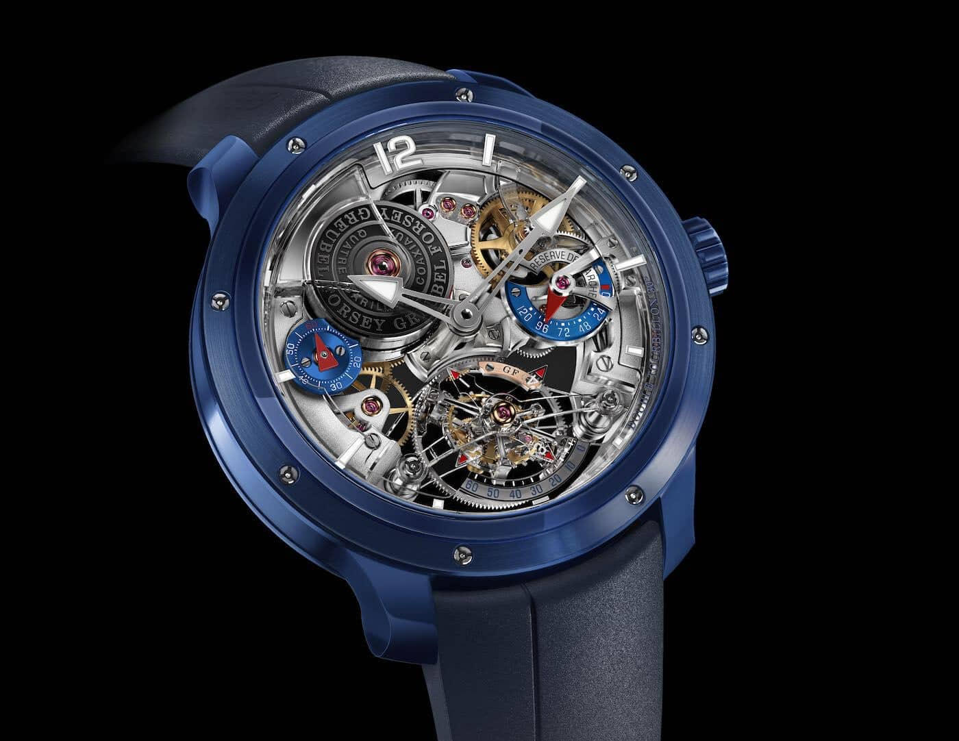 The First Ever Double Tourbillon 30° Watch from Greubel Forsey In Ceramic
