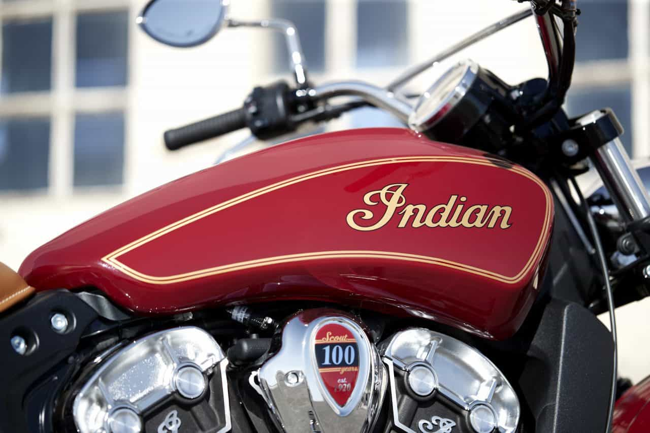 Indian Limited Edition Scout 100th Anniversary Motorcycle 3
