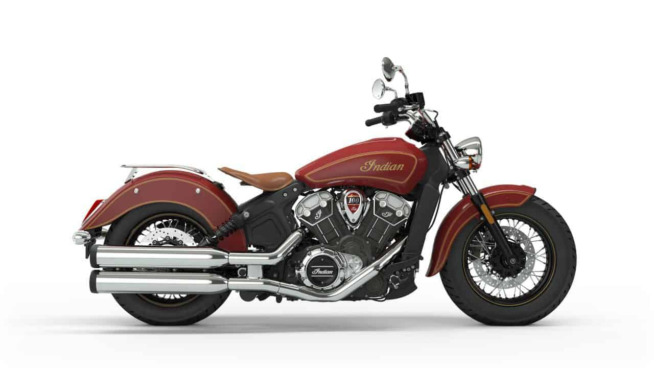 Indian Limited Edition Scout 100th Anniversary Motorcycle 5