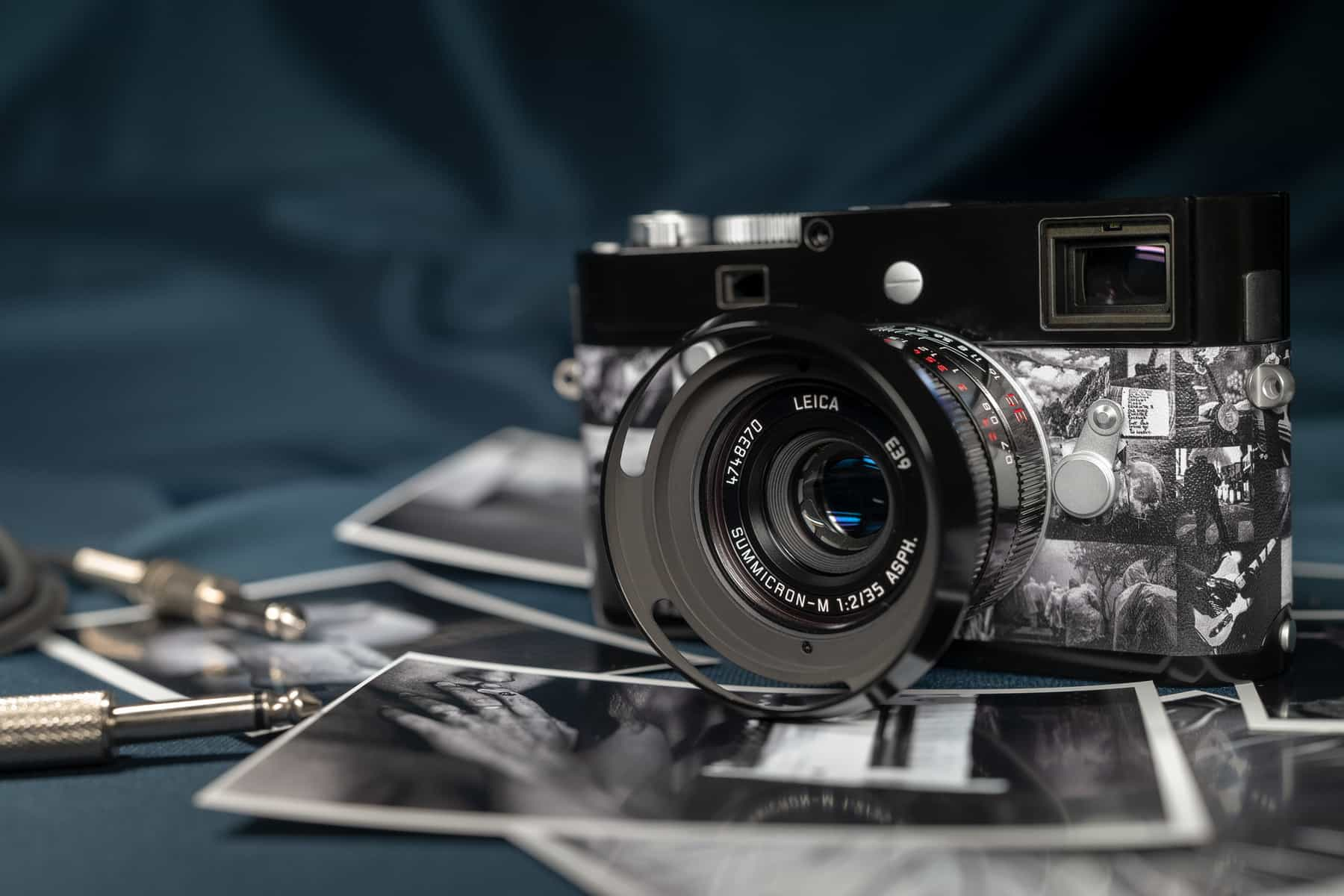 """Leica M Monochrom """"Signature"""" is a cool tribute to Andy Summers of The Police"""