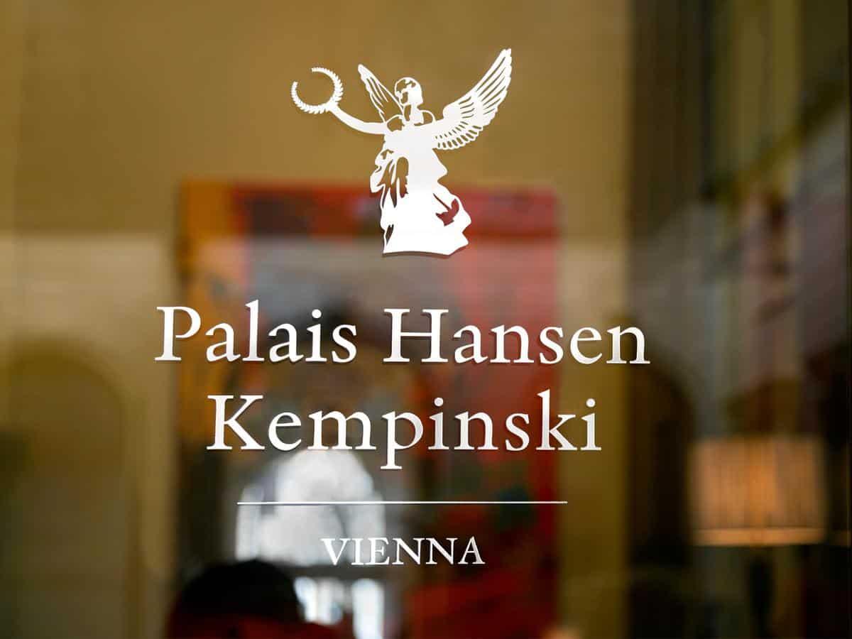 Palais Hansen Kempinski Vienna entry