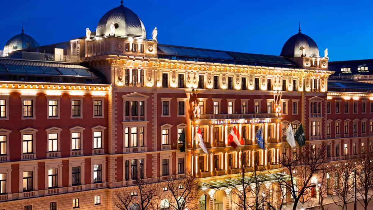 Palais Hansen Kempinski Vienna exterior