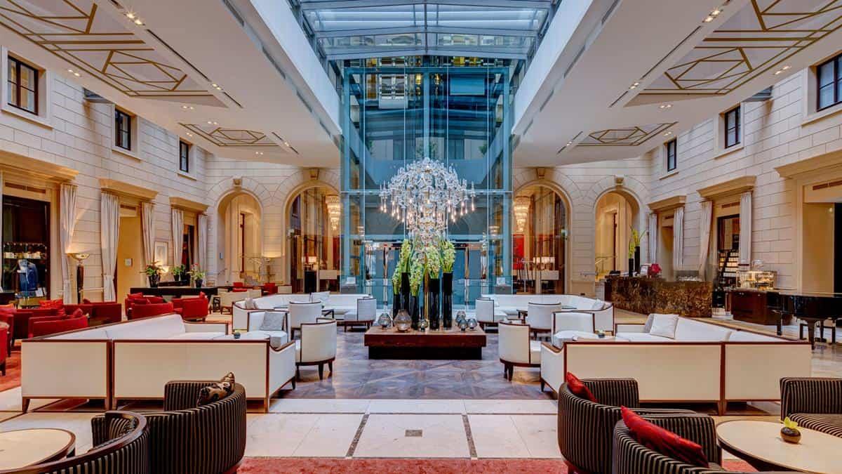 Palais Hansen Kempinski Vienna lobby