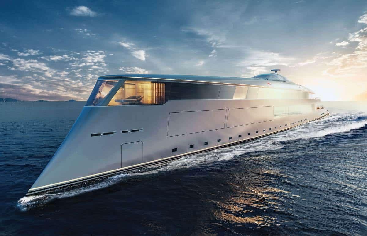 Sinot Aqua 112m Hydrogen Superyacht 6