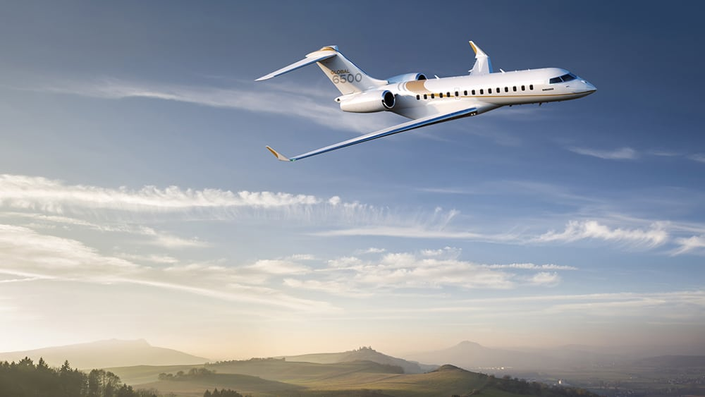 bombardier global 6500 business jet 1
