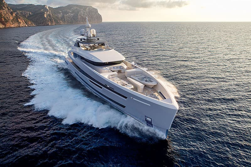 Project Akira 780 GT is the Newest Superyacht from Dutch shipyard Heesen