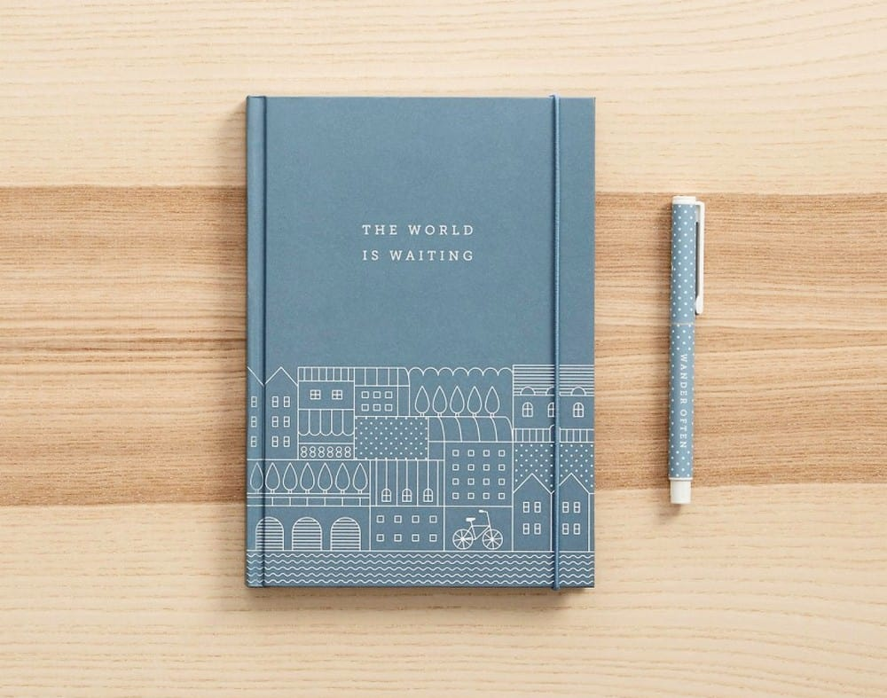 kikki.K Hardcover Travel Journal
