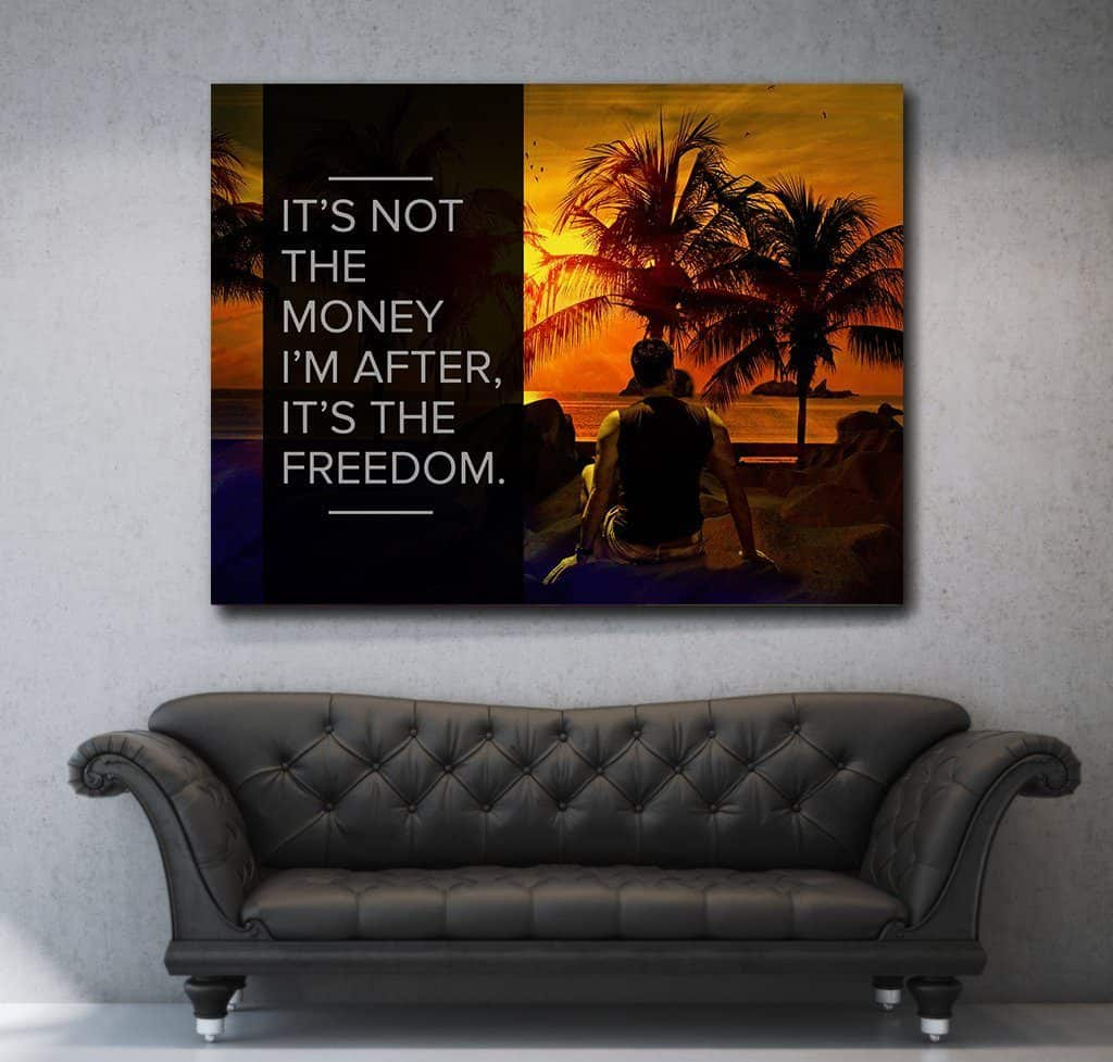 office canvas art