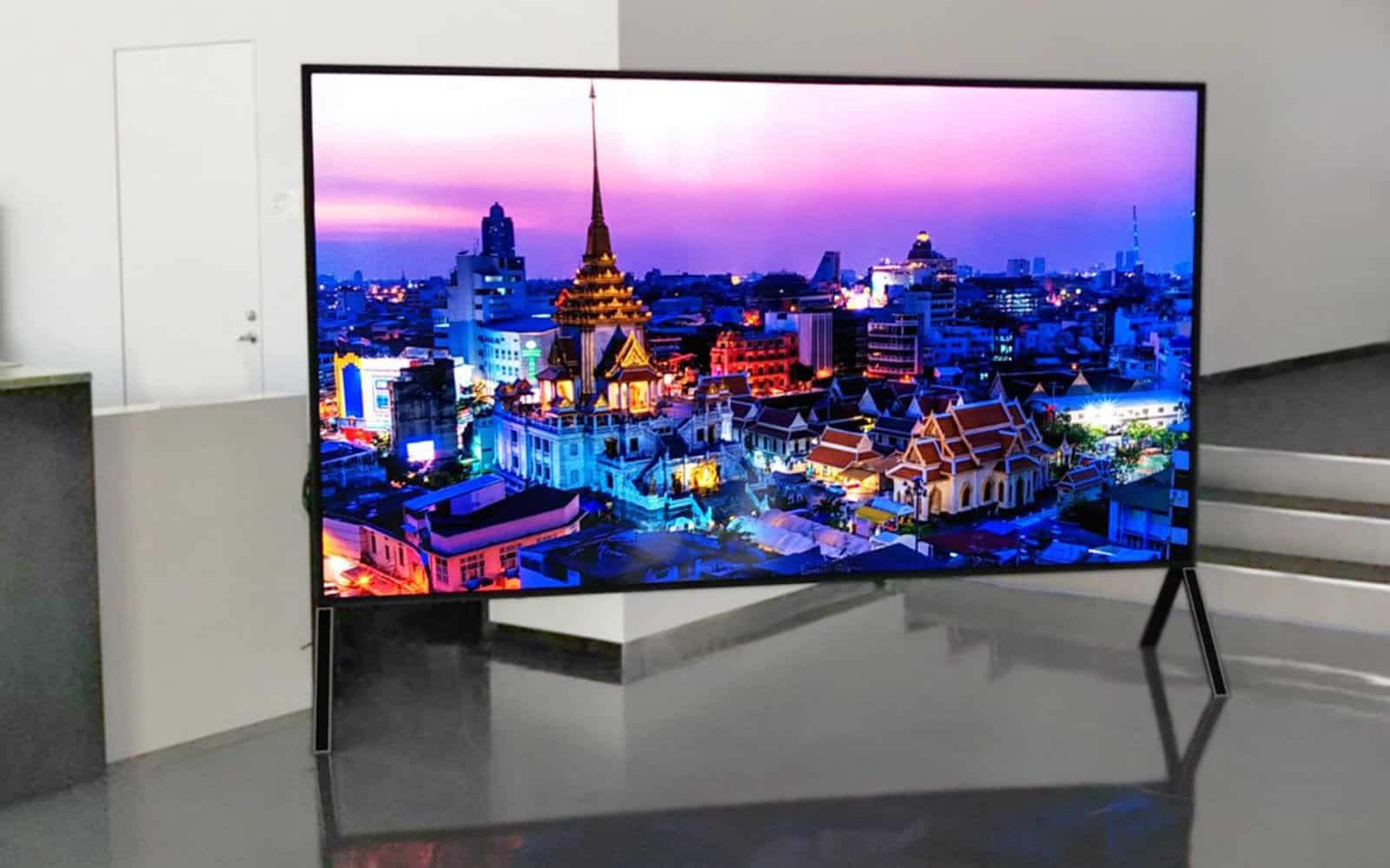 sharp 120 inch 8k tv 1