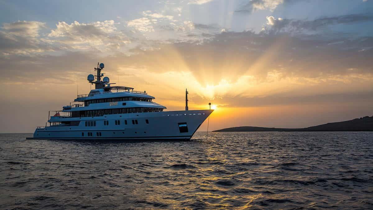 yacht size