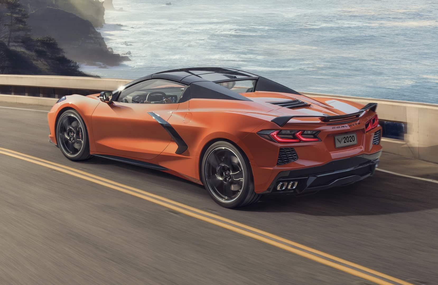2020 Chevrolet Corvette Stingray Convertible 4