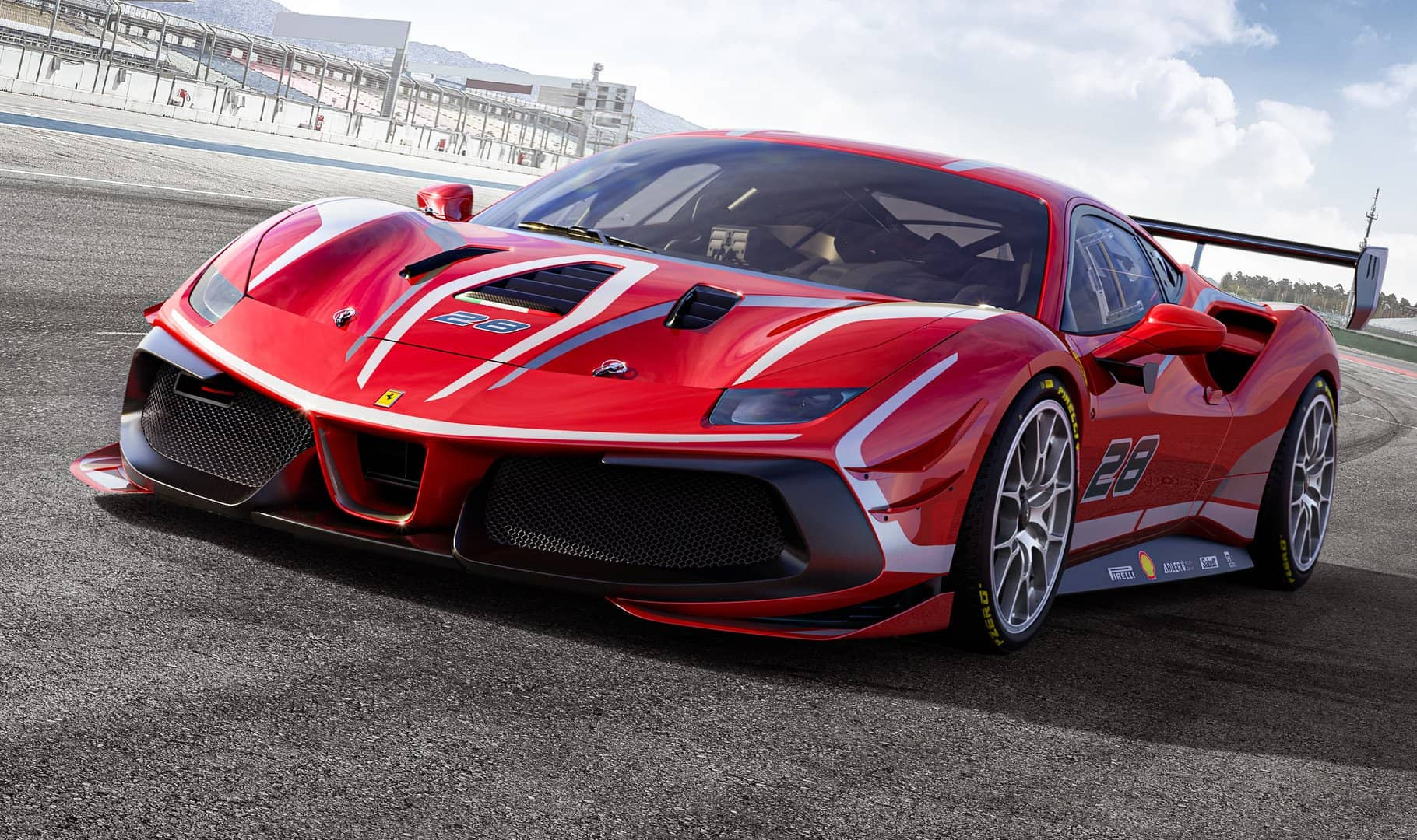Breathtaking Has A New Meaning With The New Ferrari 488