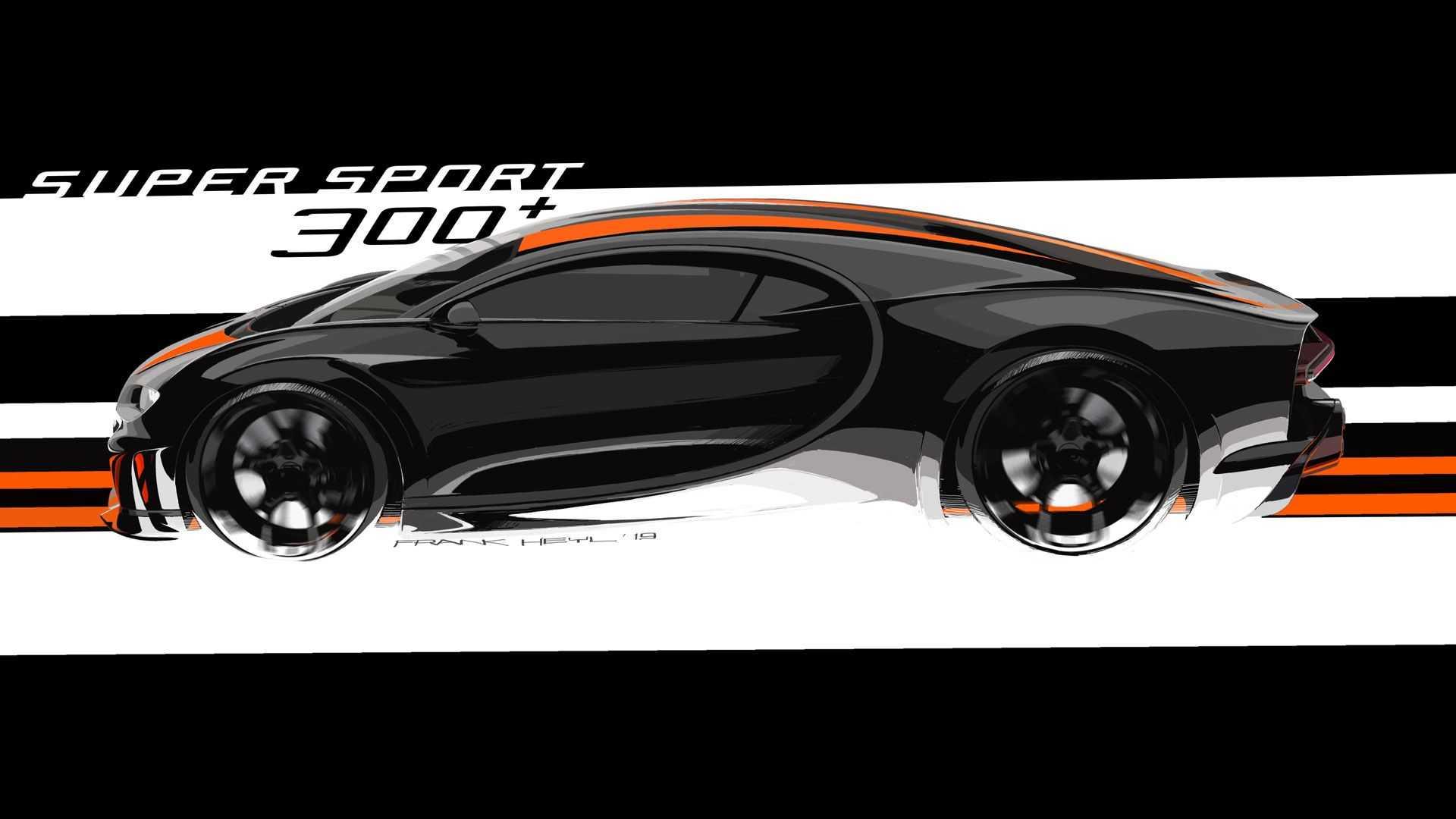 2021 bugatti chiron super sport 300 2