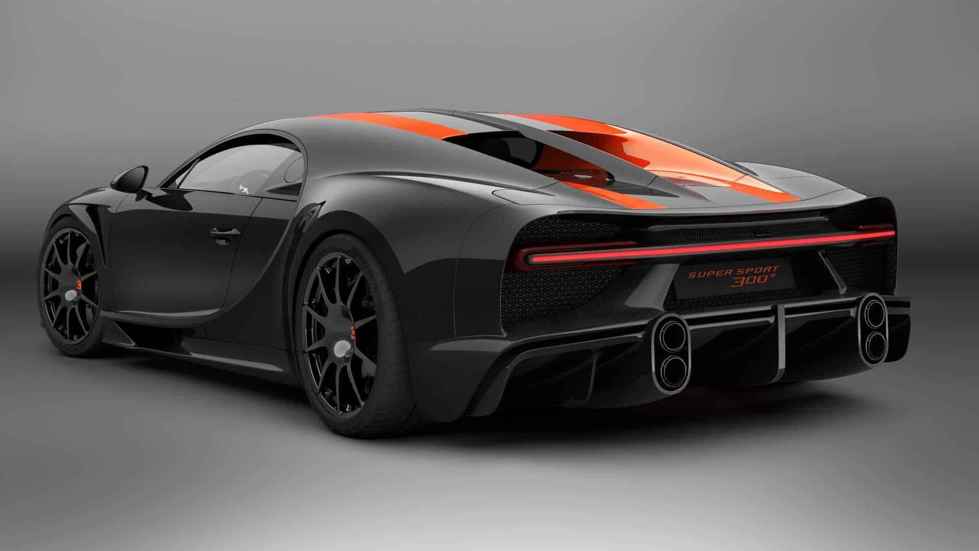 2021 bugatti chiron super sport 300 4