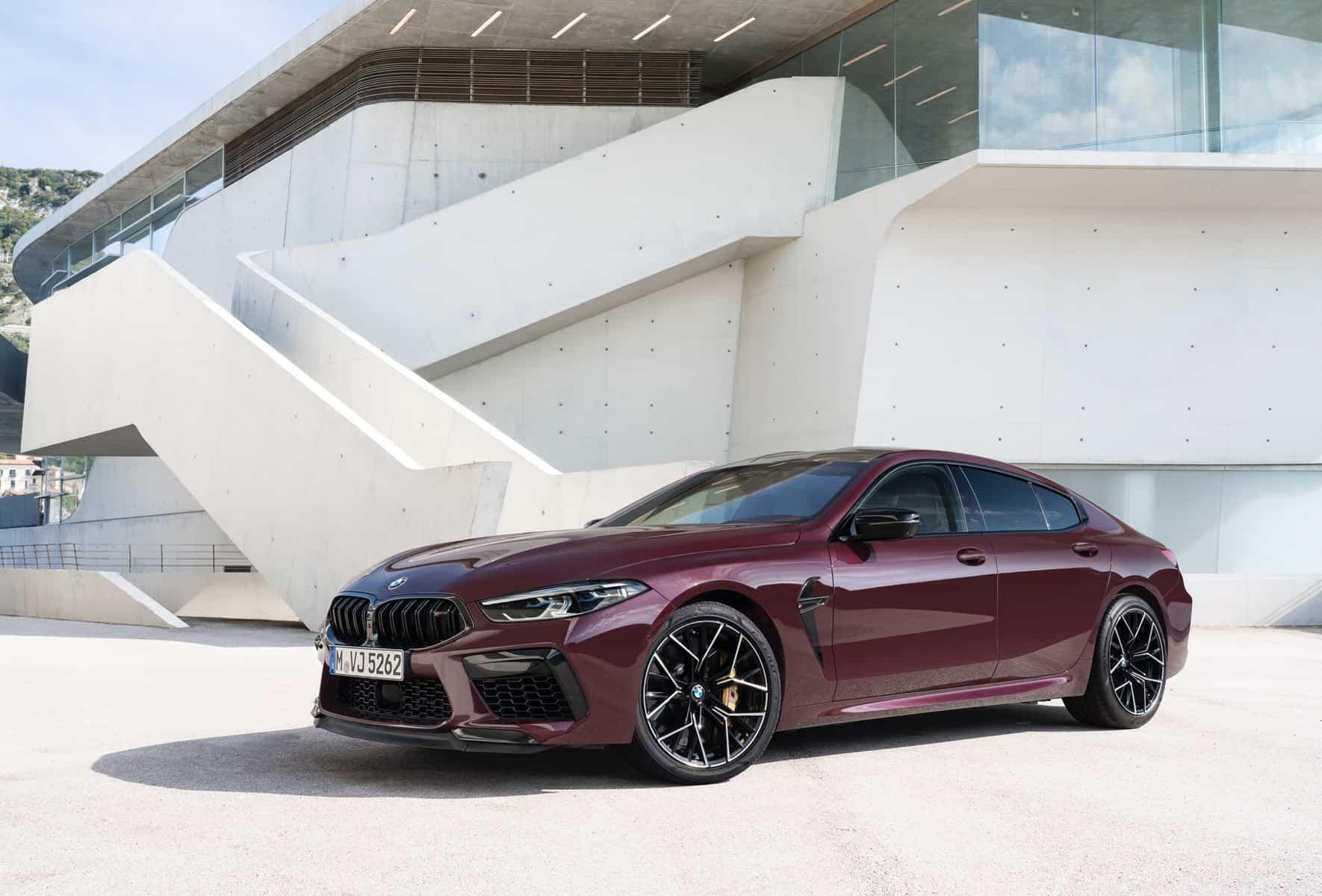 BMW M8 Competiton Gran Coupe 2