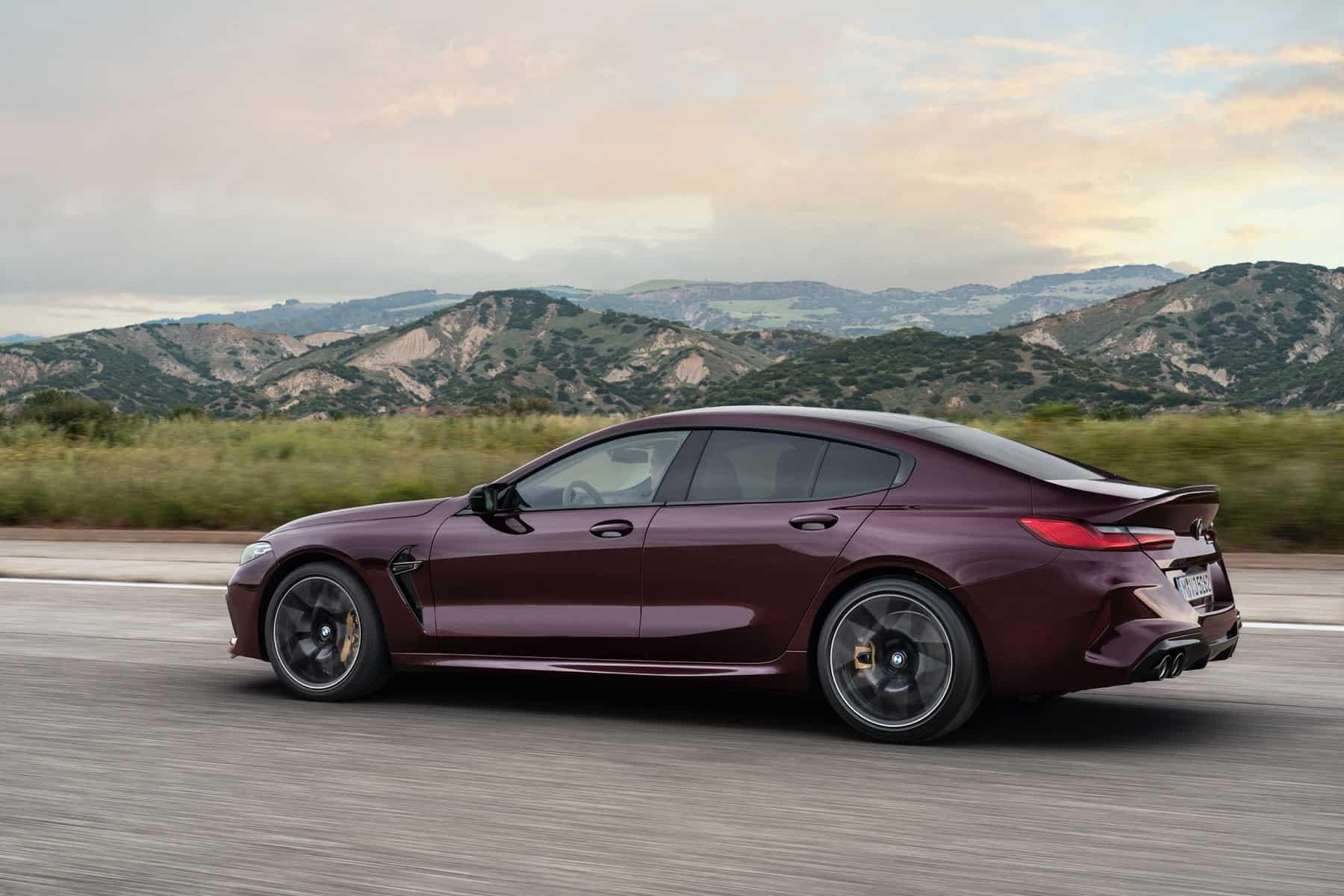 BMW M8 Competiton Gran Coupe 4