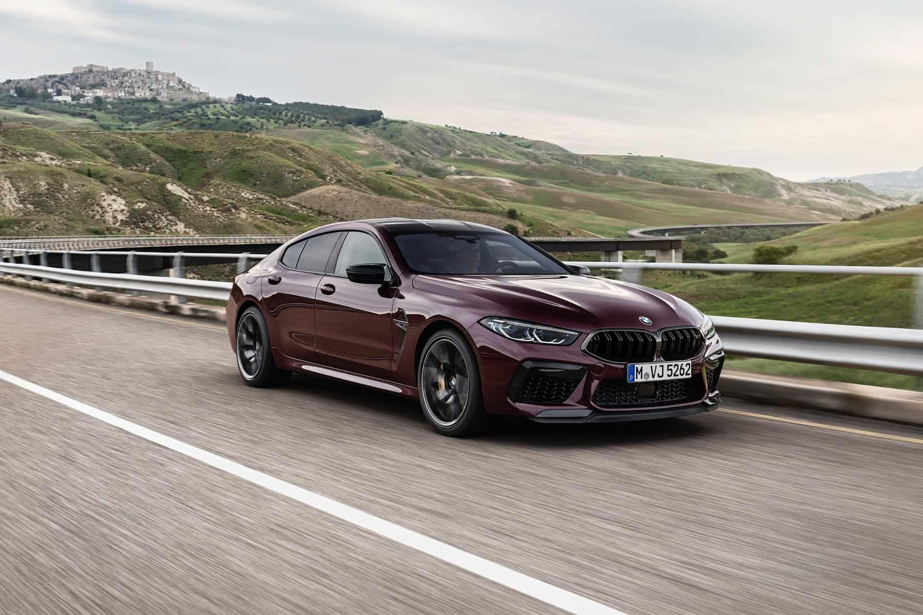 BMW M8 Competiton Gran Coupe 8