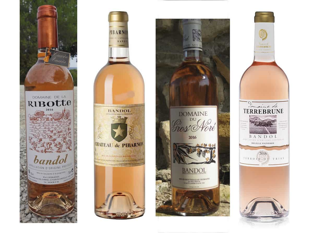 Bandol wiine