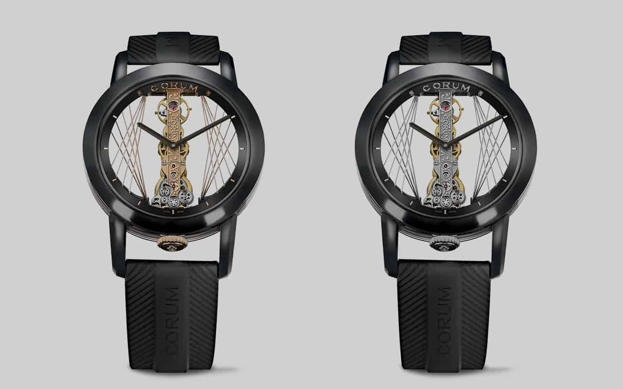 Corum Golden Bridge Round 43 Art Deco 5