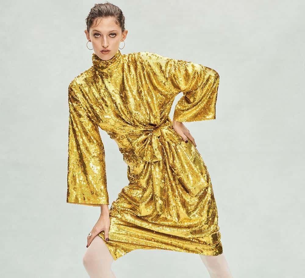Gucci Sequin Dress