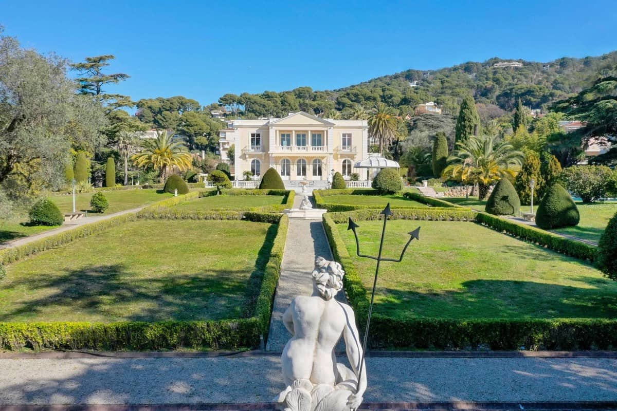 Le Château Sainte-Anne is a Spectacular Belle Epoque Mansion in the Heart of Cannes