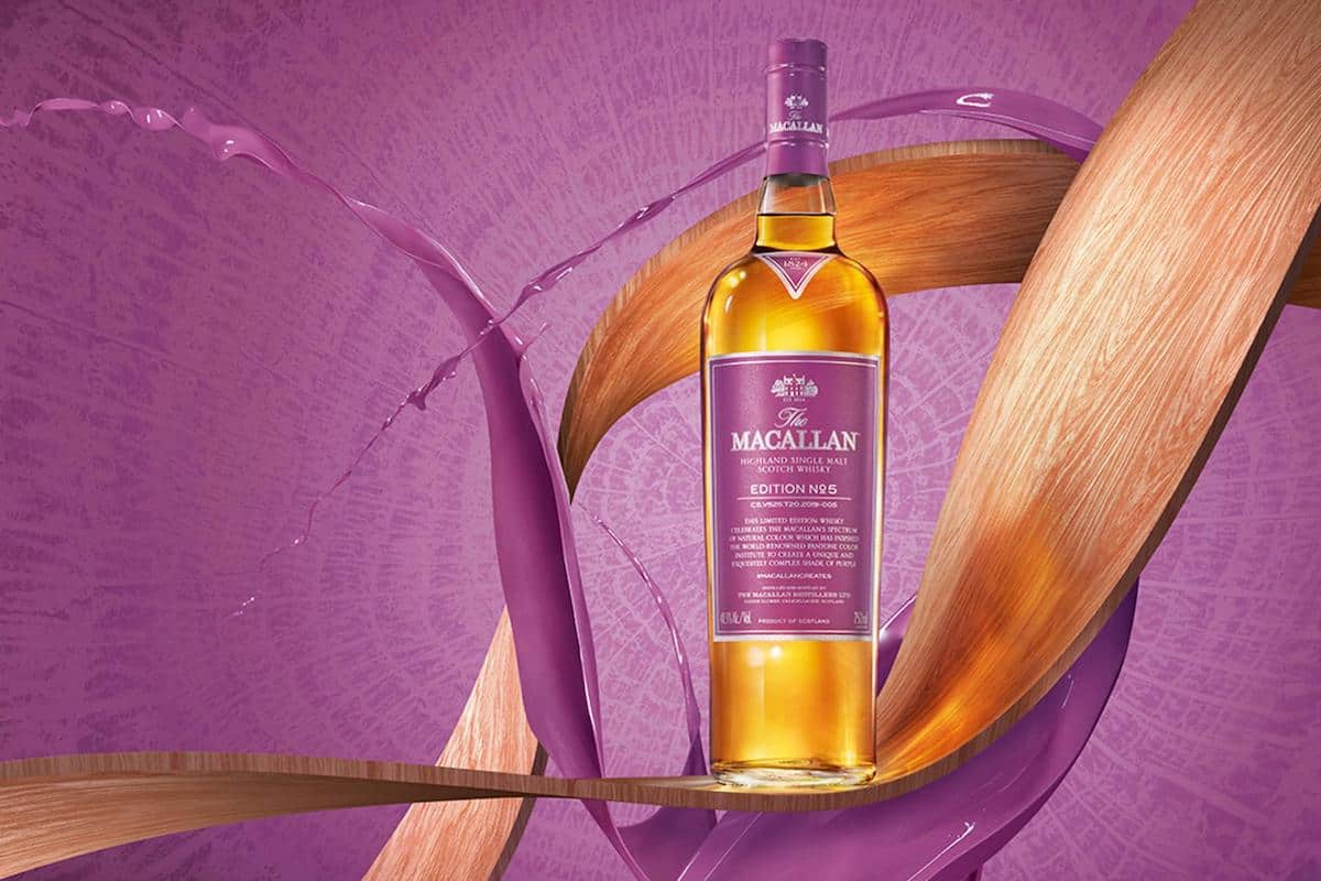 The Macallan Edition No. 5 Celebrates Colors in Style