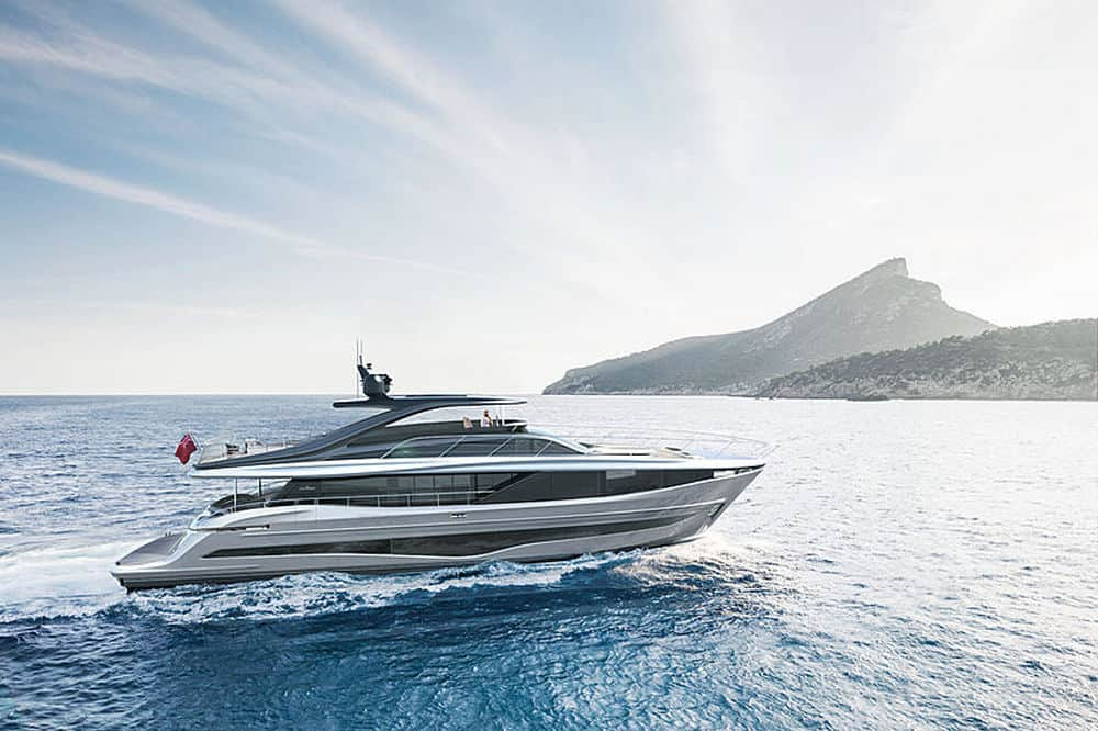 Princess Y95 Revealed at the Cannes Yachting Festival
