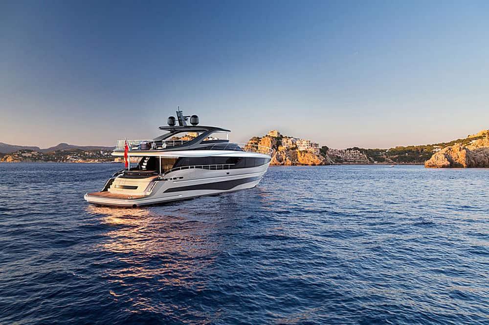 Princess Y95 yacht 2
