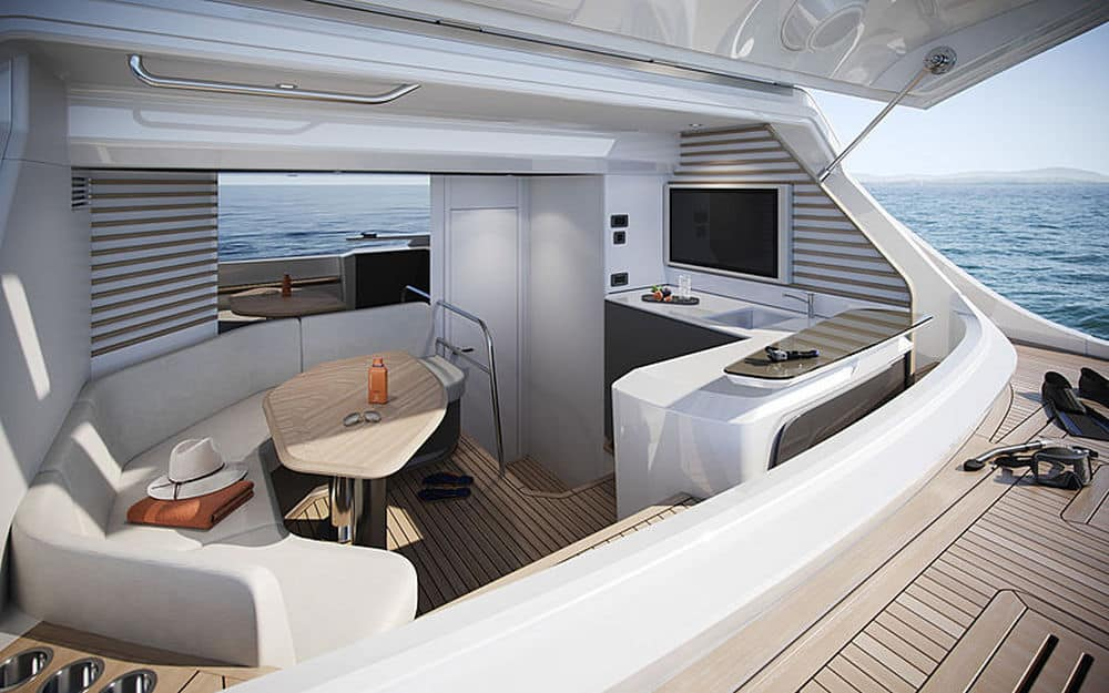 Princess Y95 yacht 4