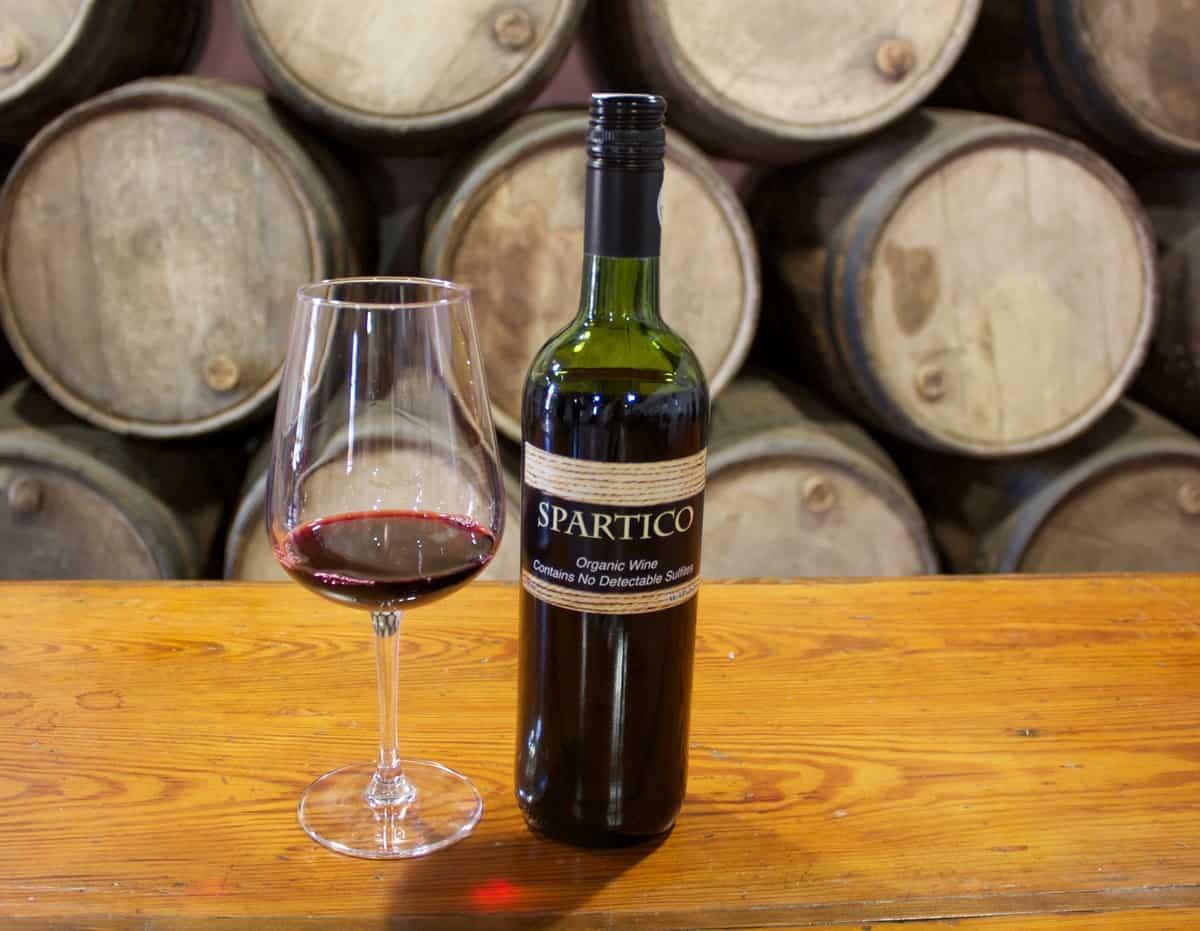 Spartico wine