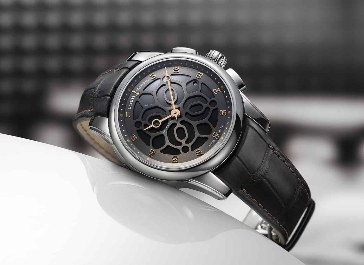 Ulysse Nardin Hourstriker Phantom Limited Edition Watch Devialet 1