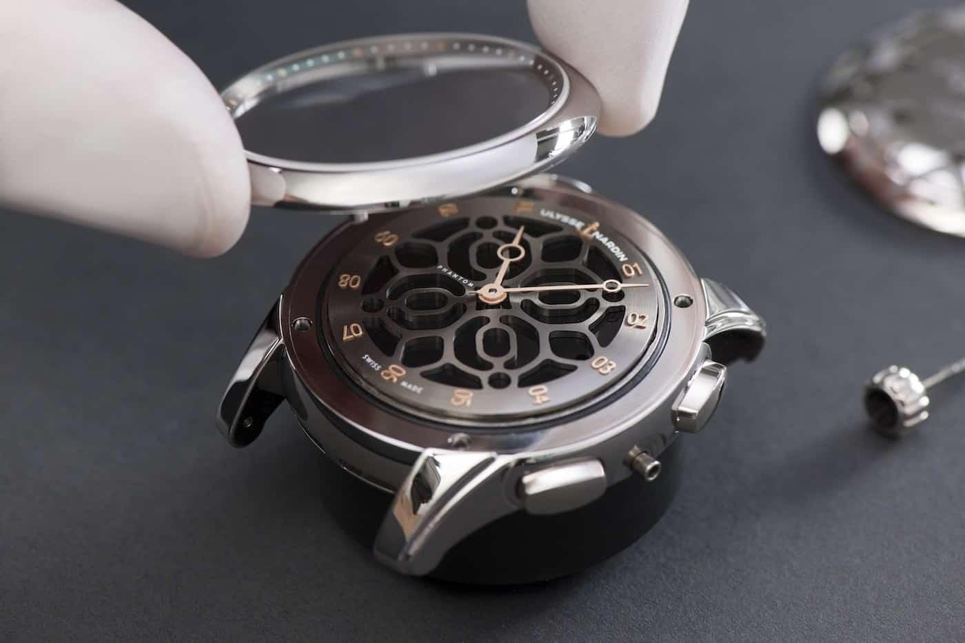 Ulysse Nardin Hourstriker Phantom Limited Edition Watch Devialet 4